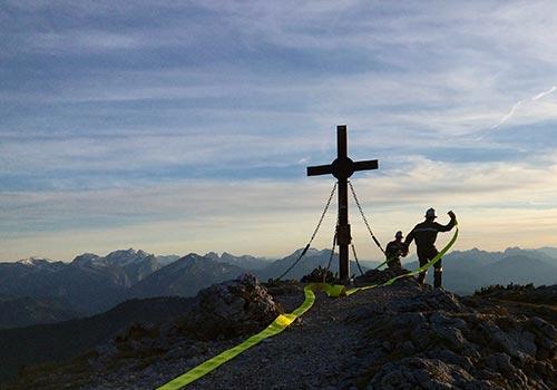 Löschangriff Alpinstil