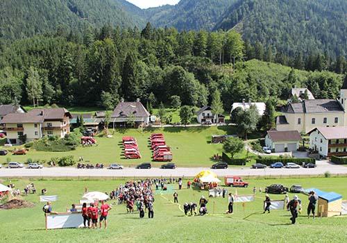 Löschangriff Alpinstil Lassing, NÖ 2017