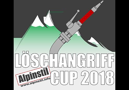 Löschangriff Alpinstil Cup 2018 Logo