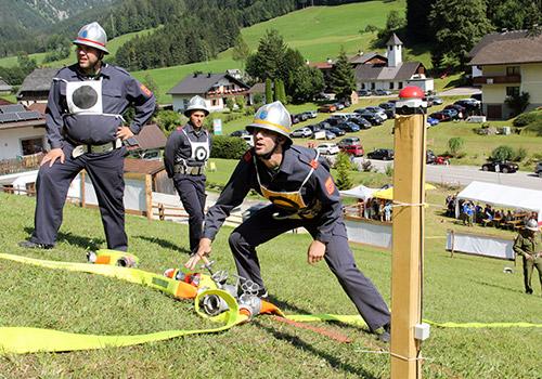 Löschangriff Alpinstil 2018 Lassing, NÖ